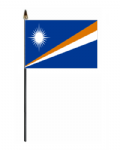 Marshall Islands Hand Flag - Small.